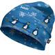 HAD Printed Fleece Nakrycie głowy Dzieci niebieski